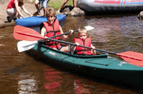 Paddling in Vilas County