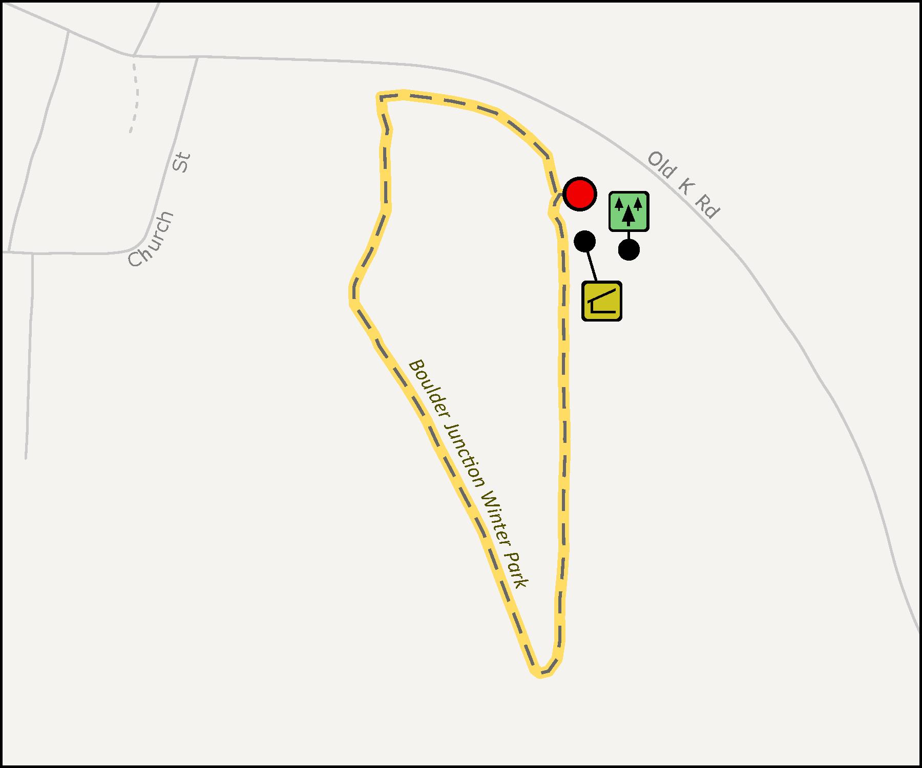 Map - Boulder Junction Winter Park