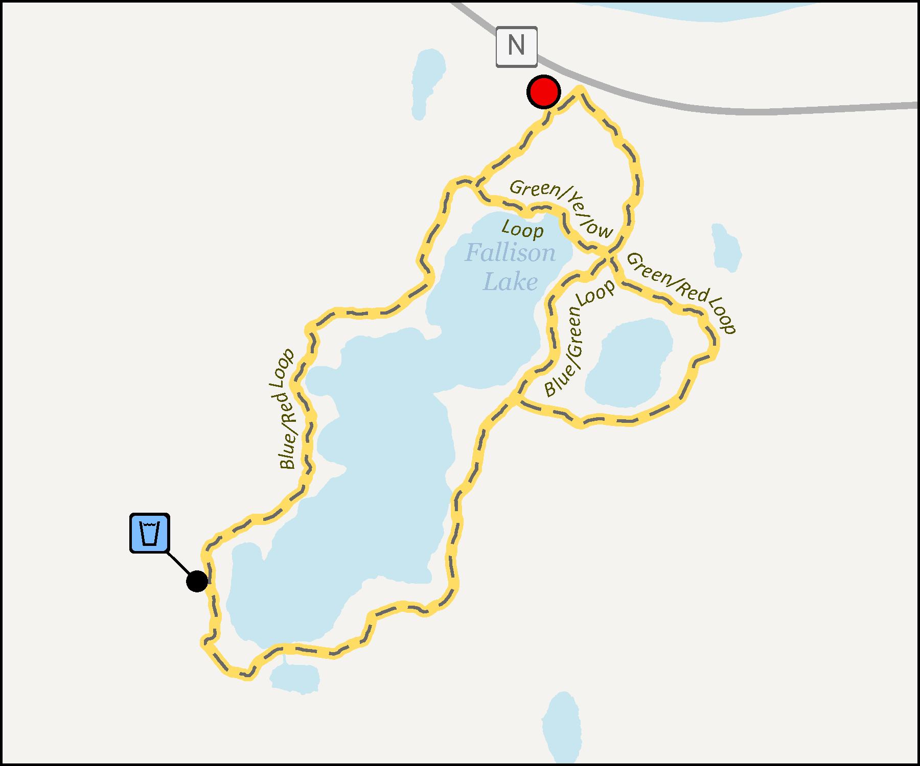 Fallison Lake Trails