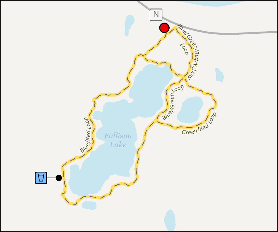 Map - Fallison Lake Trails