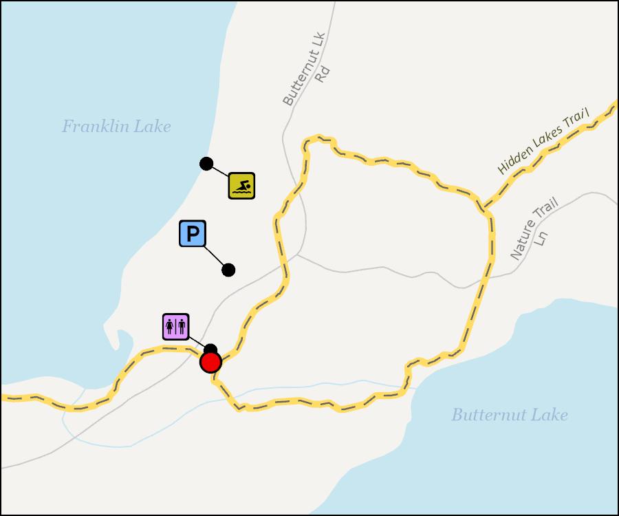Map - Franklin Lake Nature Trail