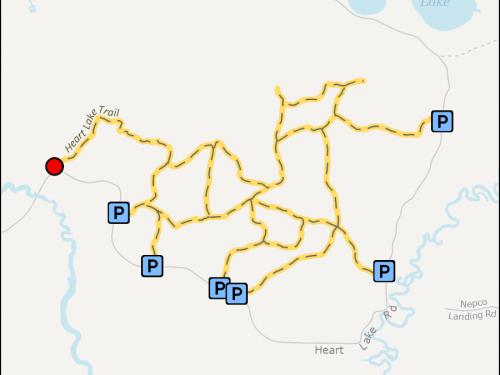 Map - Heart Lake Trail