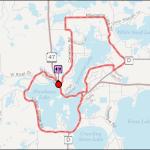 Map - Lac Du Flambeau Route