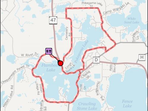 Lac Du Flambeau Trail