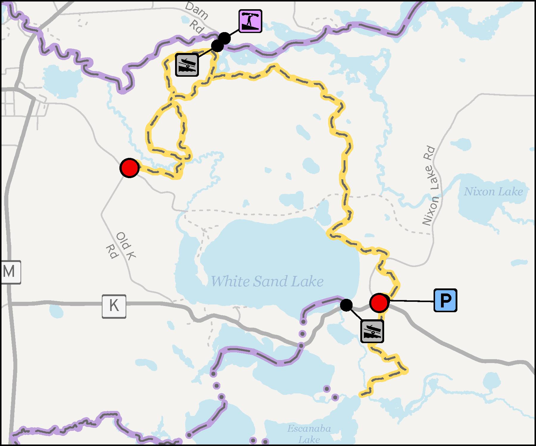 Map - Lumberjack Trail