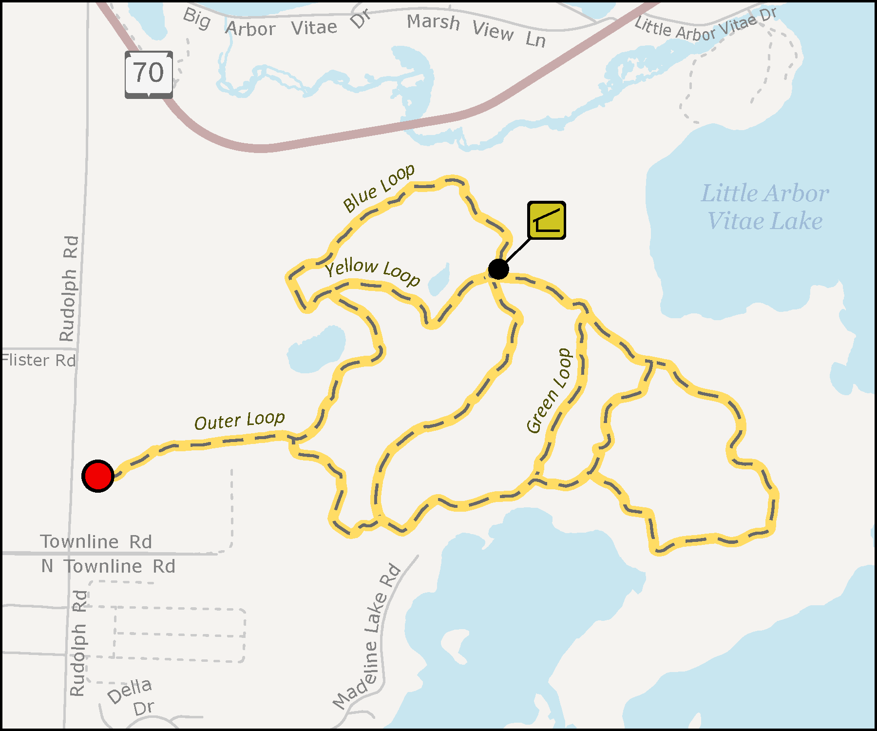 Madeline Lake Trail