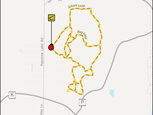 North Lakeland School Naturecross Country Ski Trail System