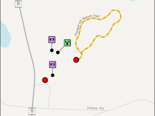 Map - Presque Isle Nature Trail