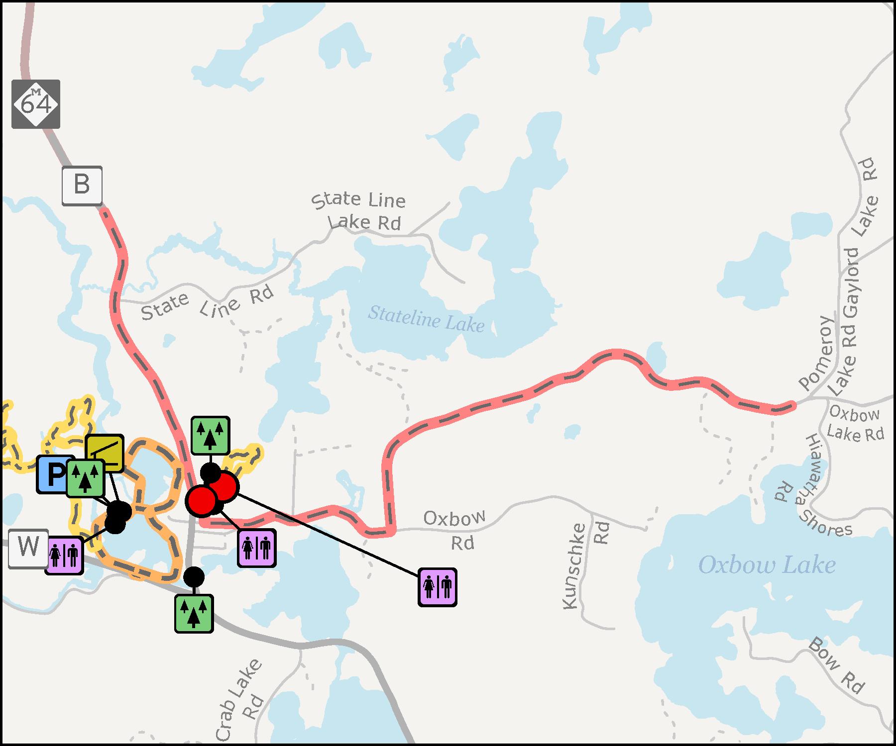 Presque Isle Pomeroy Henry Trails