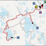 Presque Isle Winchester Bike Route