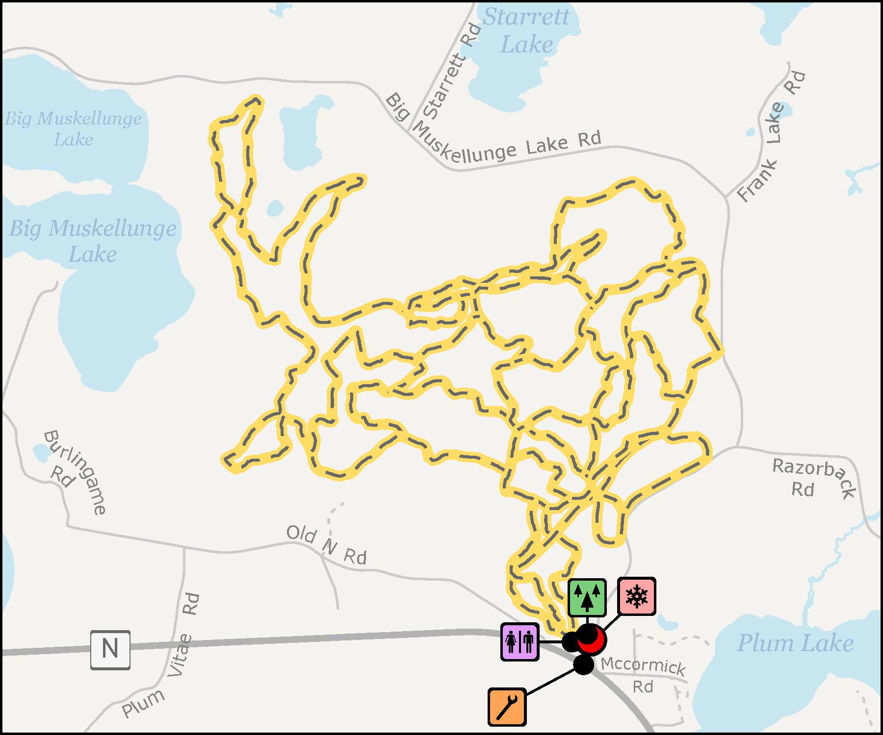 Razorback Ridges Trails