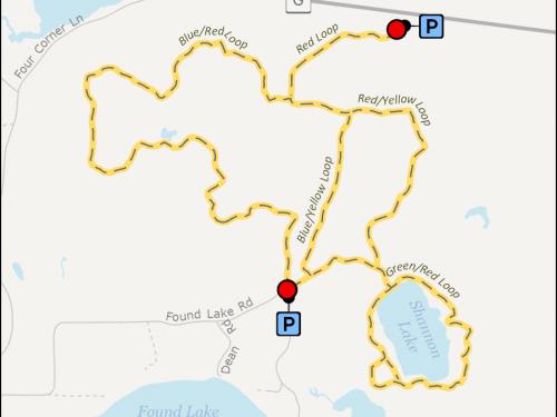 Map - Shannon Lake Trail