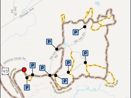 Map - Ski Hill Trails