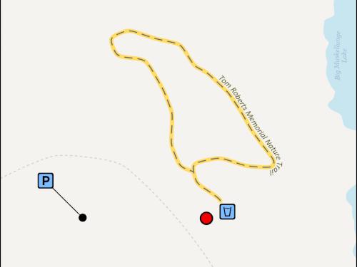 Map - Tom Roberts Memorial Nature Trail