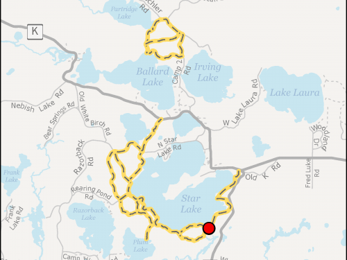 Map - Trampers Trails