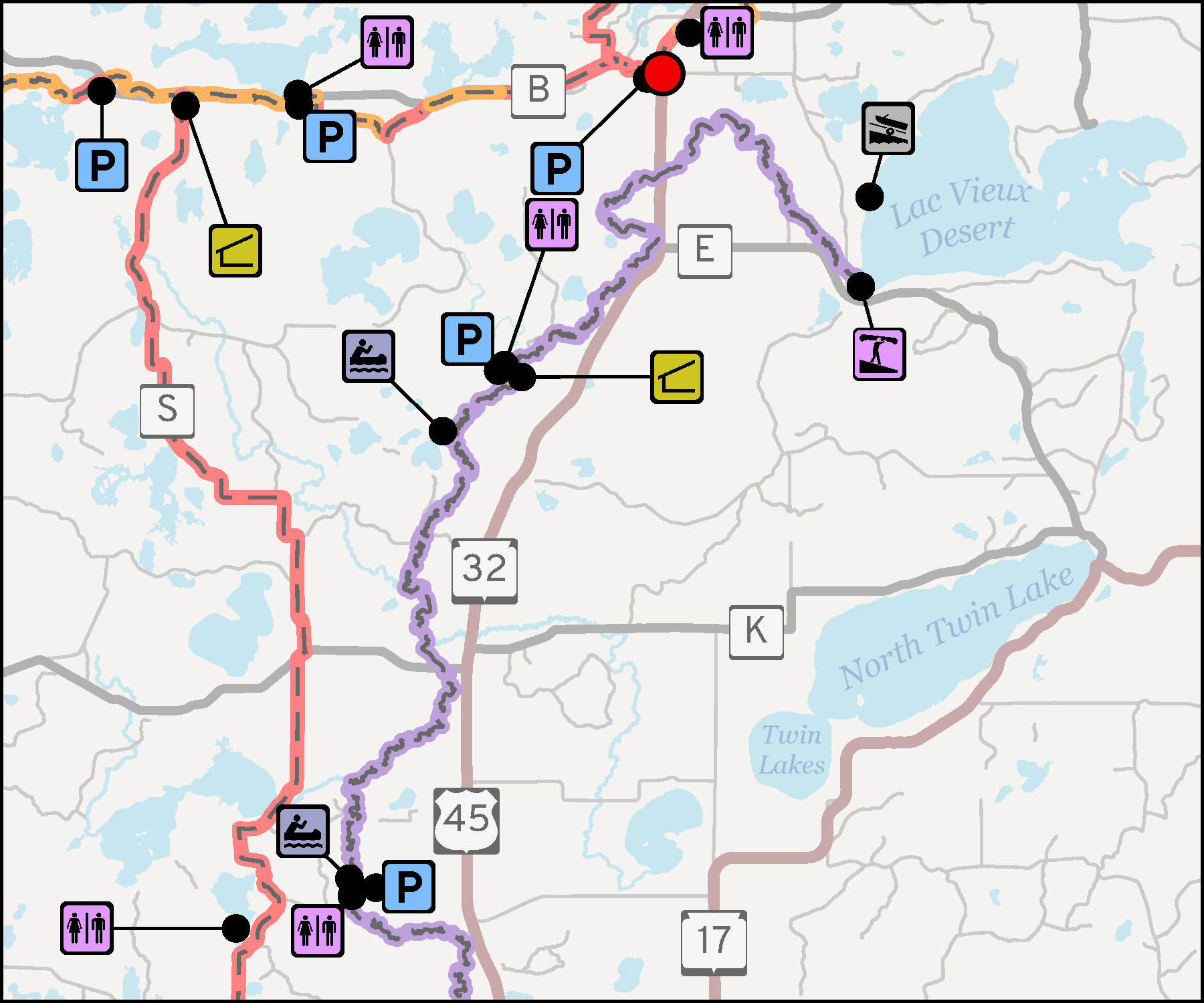 Wisconsin River Centennial Trail Trip 1