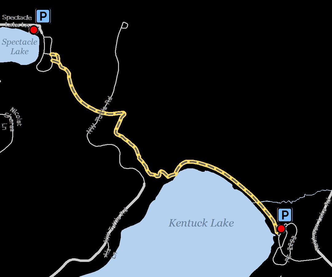 Spectacle-Lake-Kentuck-Lake-Trail
