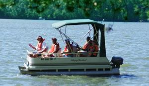 Boating in Vilas County