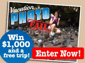 Vacation Photo Fail Contest