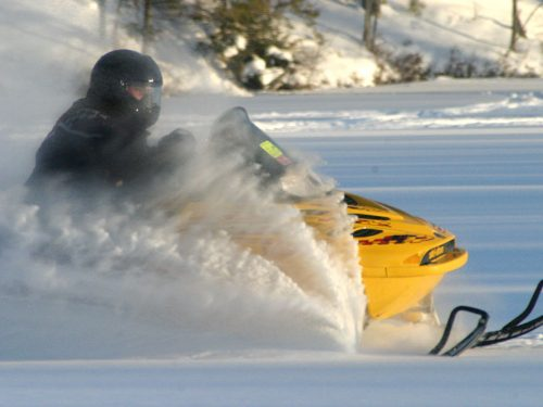 Snowmobiling - Vilas County, Wisconsin