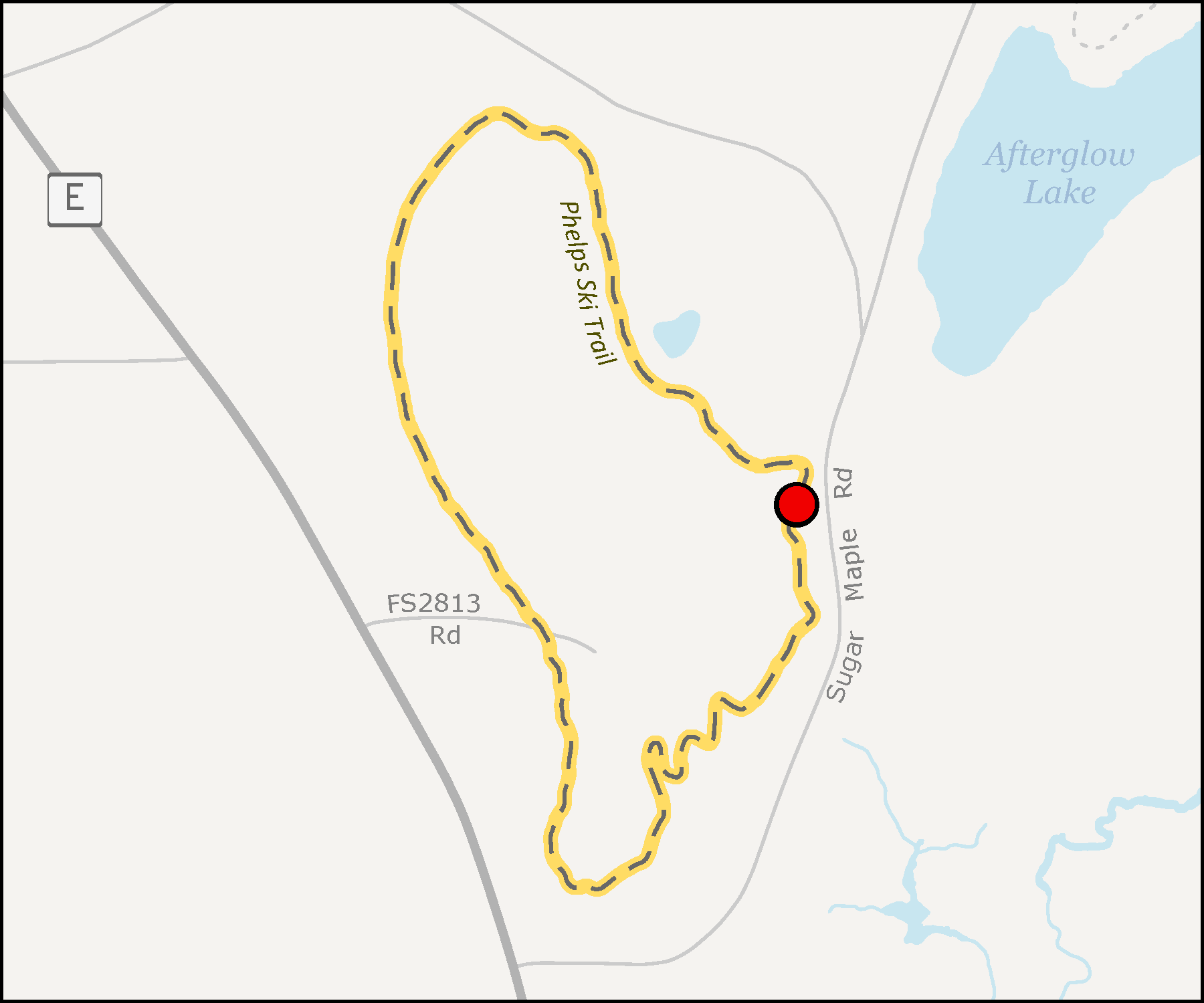 Map - Phelps Trail