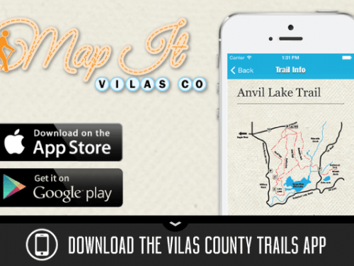 Map It Vilas County trails app
