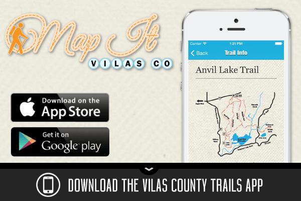 Map It Vilas County trails app