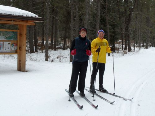 Cross-Country Skiing in Vilas County