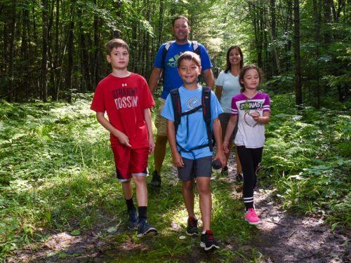 Anvil Lake Trail, Vilas County.