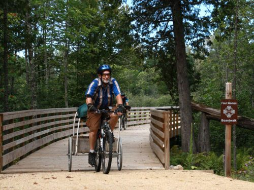 Summer Biking in Vilas County