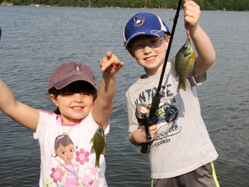 Family Fishing in Vilas County