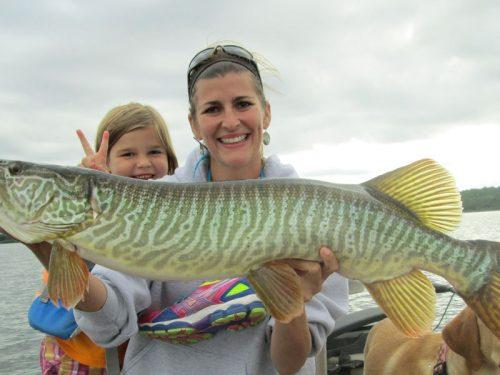 Spring fishing in Vilas County