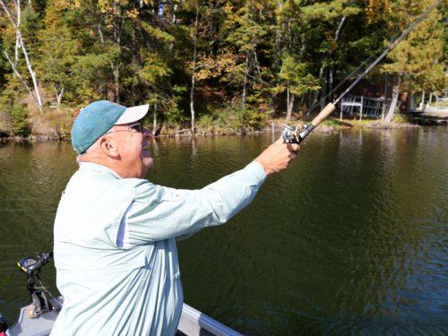 Fishing in Vilas County