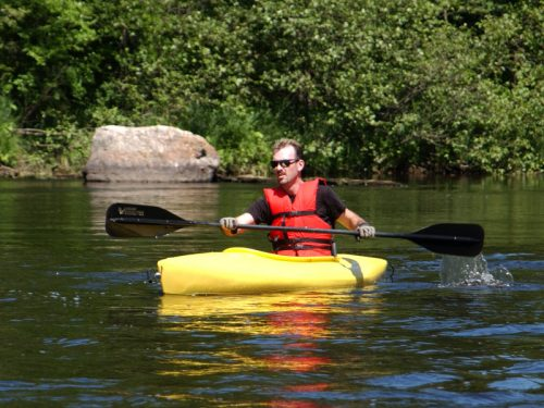 Kayaking in Vilas County