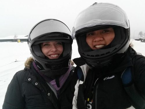 Snowmobiling in Eagle River