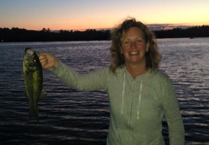 Night fishing in Vilas County!