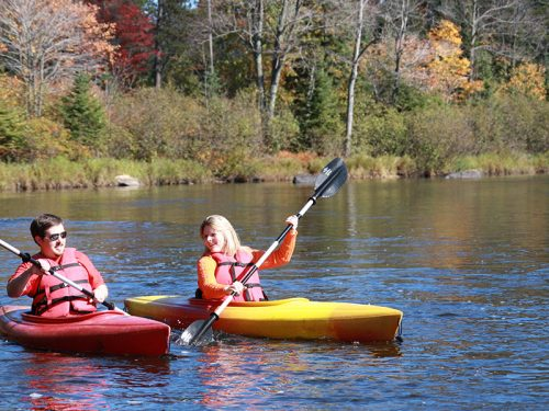 fall kayaking