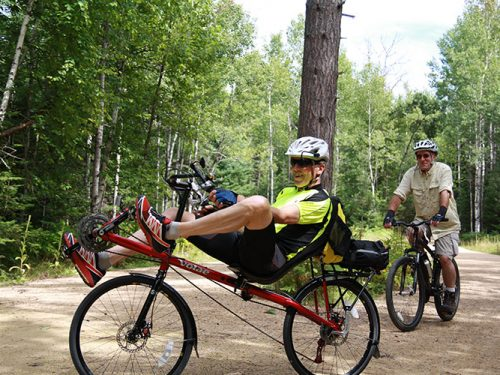 Biking the trails this spring
