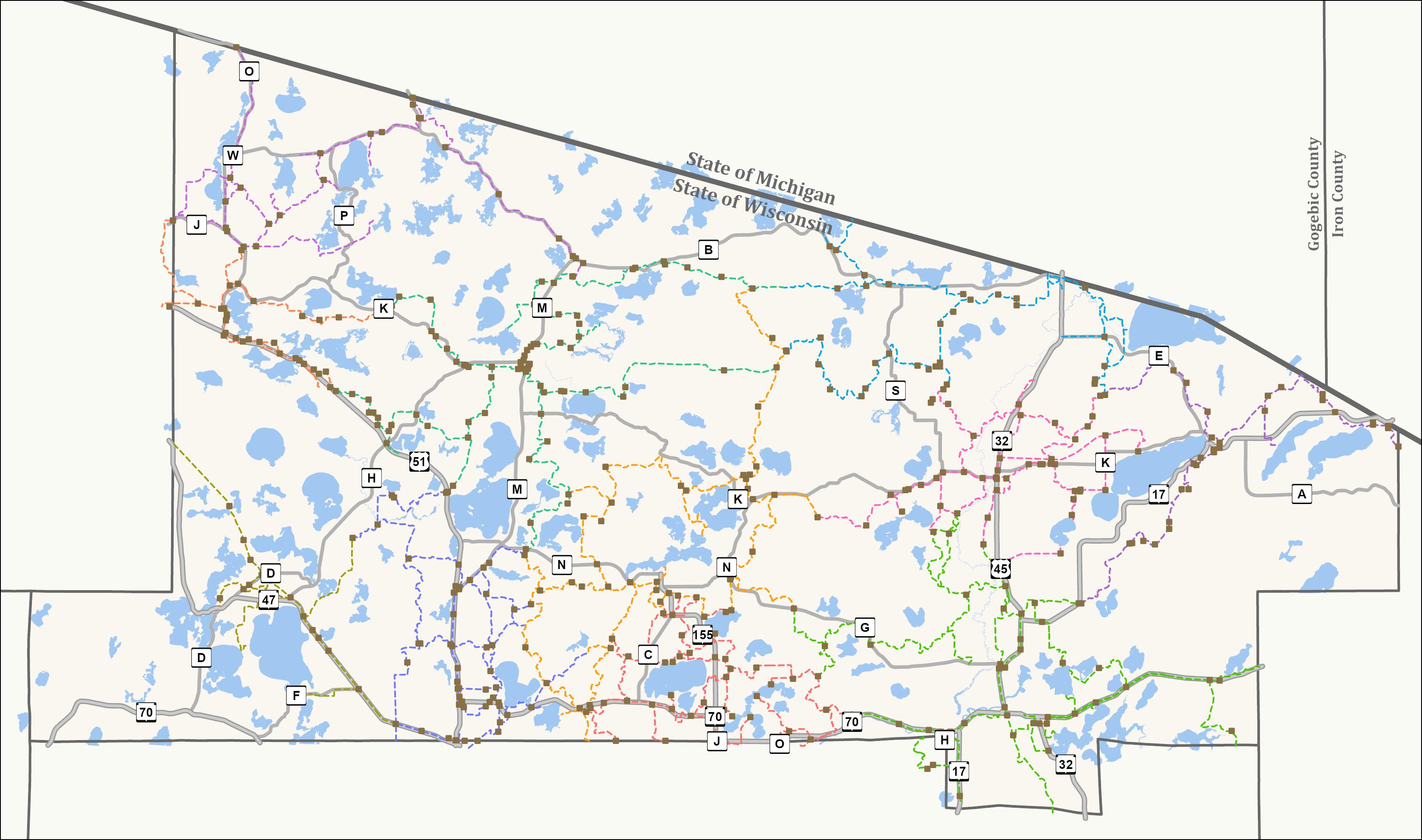 Map - Snowmobile Full