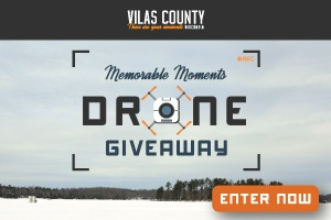 Vilas County Memorable Moments Drone Giveaway