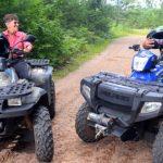 ATVing in Vilas County