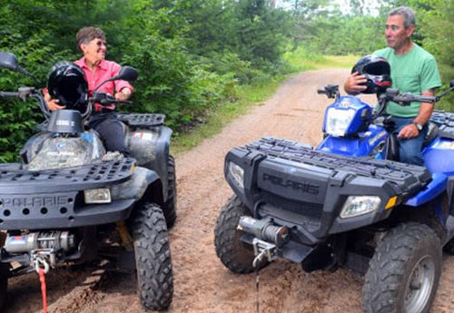 ATVing in Vilas County
