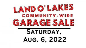Landolakes Garage Sale 2022