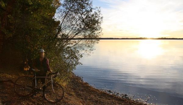 Vilas County Hiking By Lake 2
