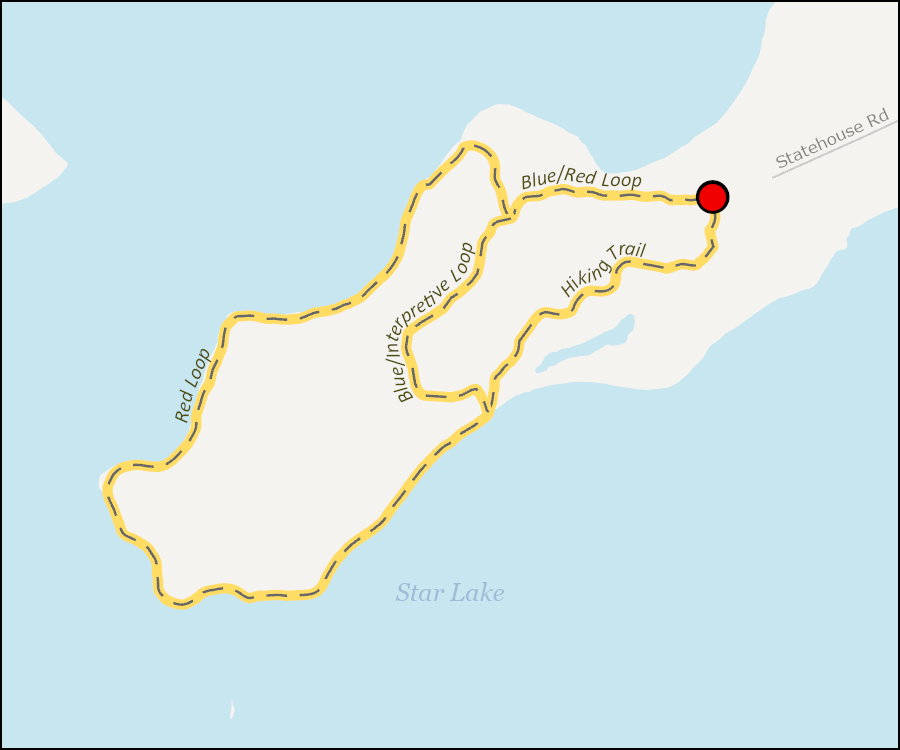 Map - Star Lake Nature Trail