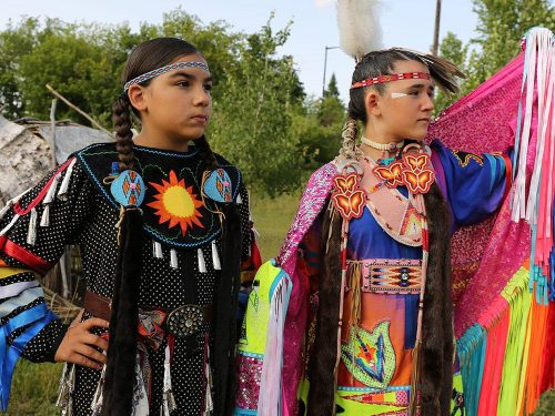 Indian Bowl pow wow Lac du Flambeau WI