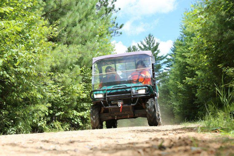 ATVing summer Vilas County Wisconsin