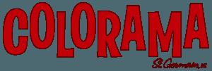 Colorama Retro Logo Red