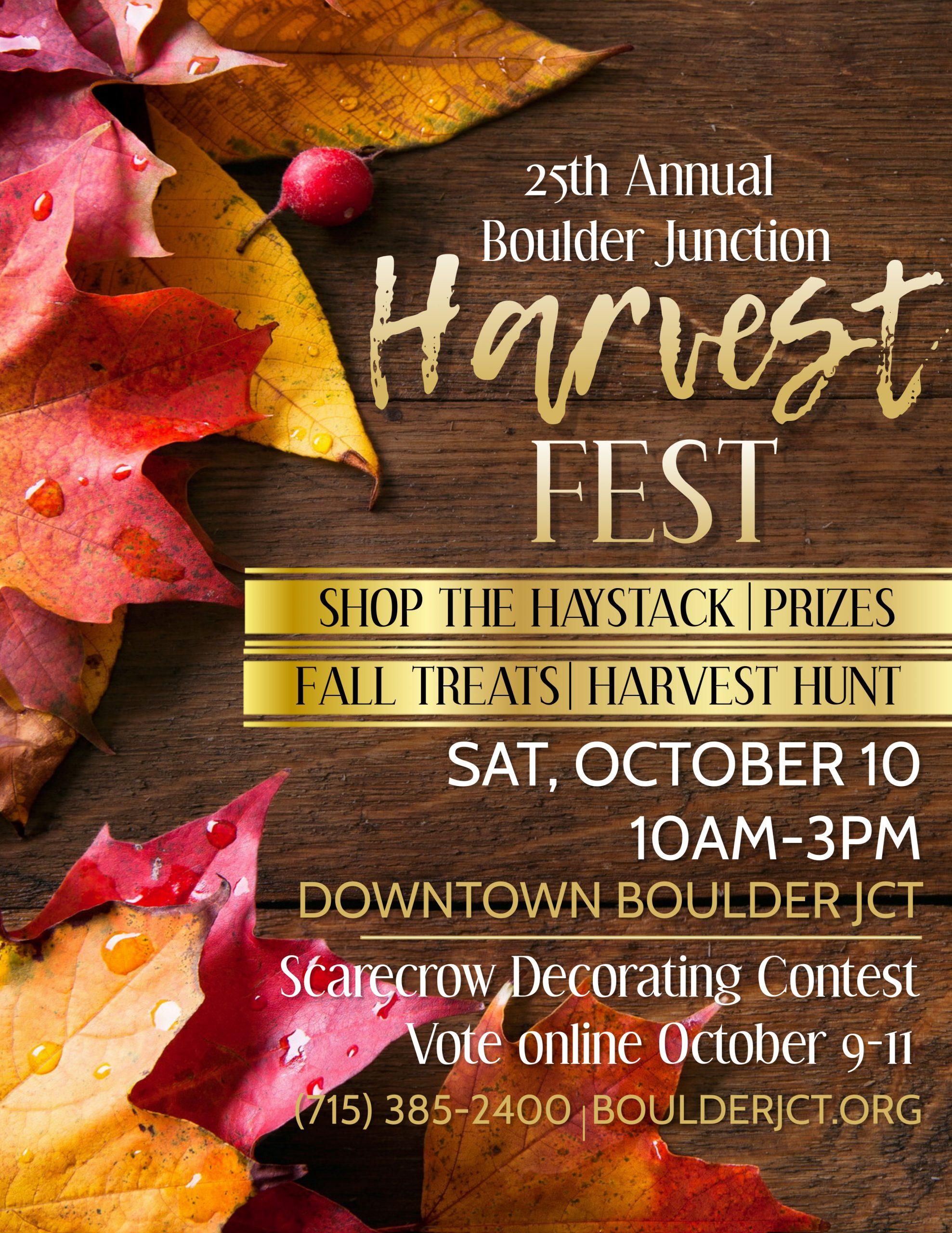 Harvest Fest Poster 2020