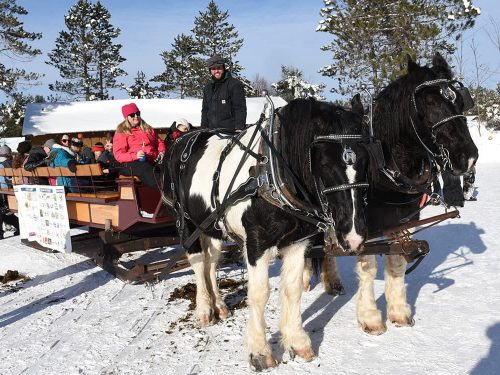 Winter events in Vilas County